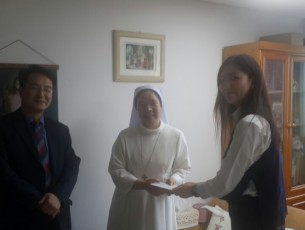 Visited and made Chuseok donation to Sung-Ga nursing home in 2017.